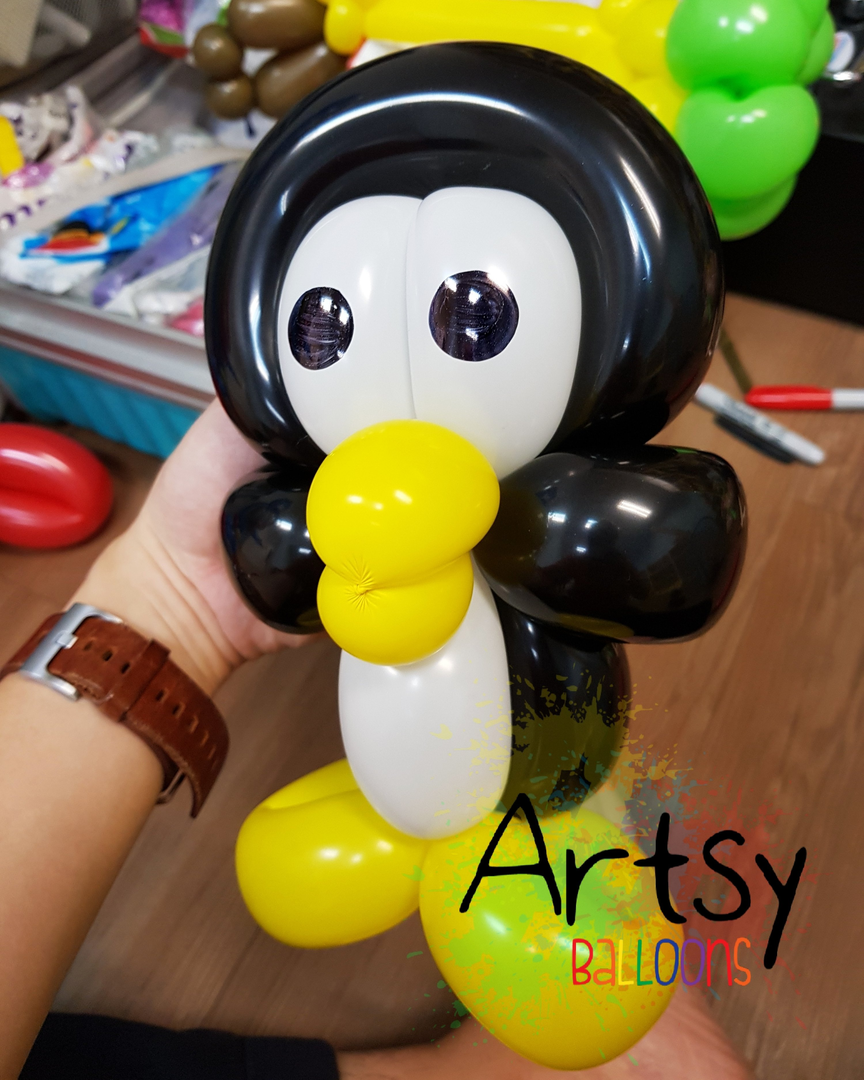 , Just did a birthday party for my long time client!, Singapore Balloon Decoration Services - Balloon Workshop and Balloon Sculpting