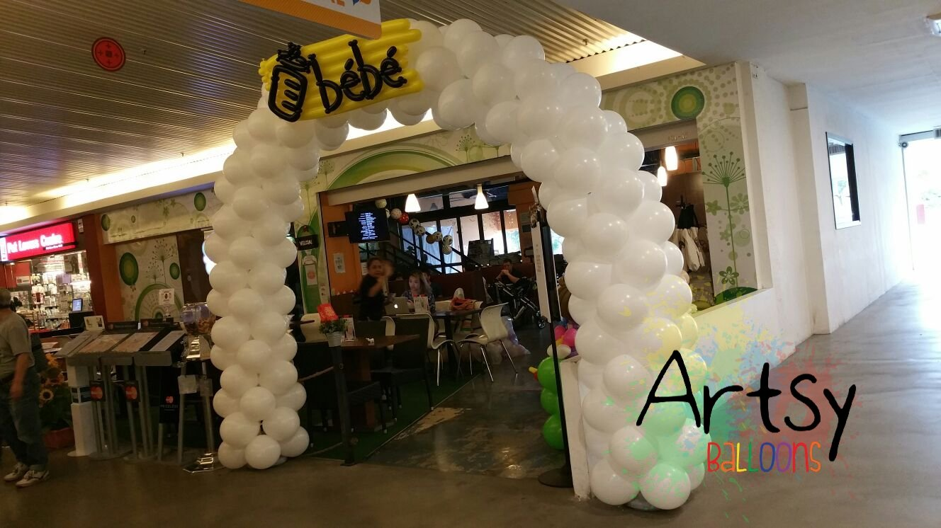 , Balloon decoration for baby Fair event!, Singapore Balloon Decoration Services - Balloon Workshop and Balloon Sculpting
