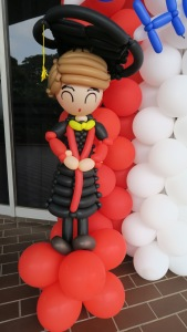 , Graduation balloon decorations for NTU 2017, Singapore Balloon Decoration Services - Balloon Workshop and Balloon Sculpting