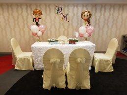 wedding balloon decorations bride and groom sculpture (2)6592845420803585668..jpg
