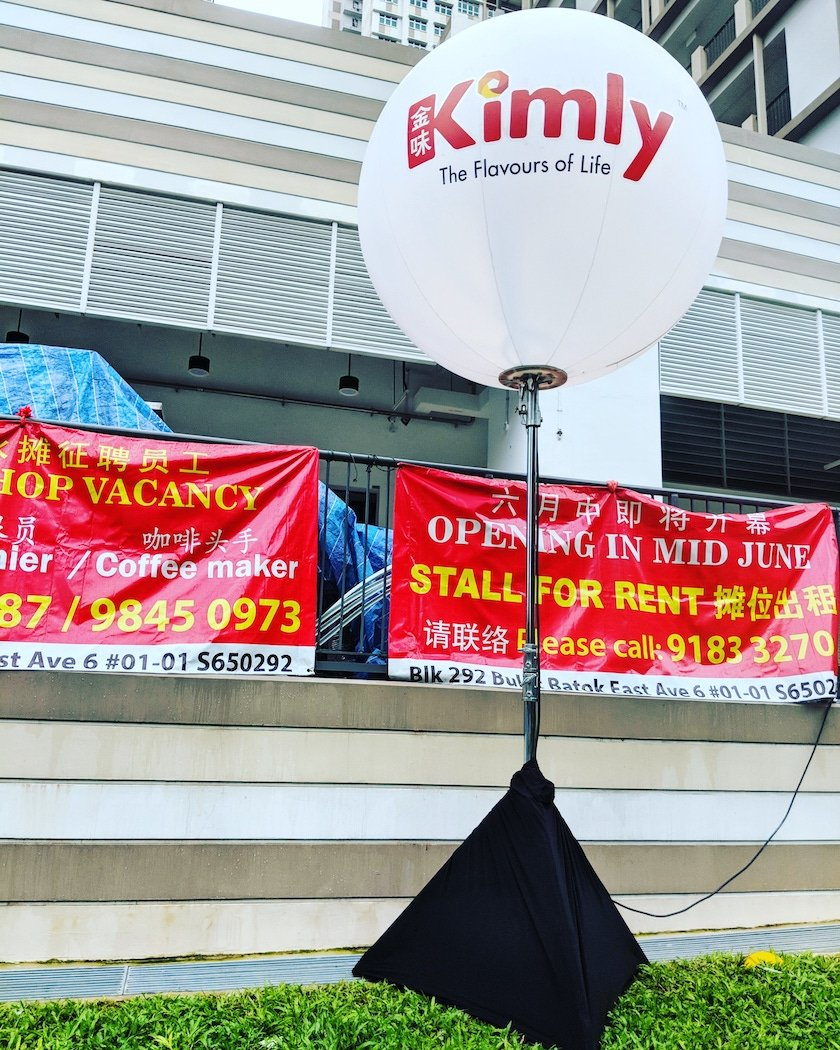 , Advertising Balloons, Singapore Balloon Decoration Services - Balloon Workshop and Balloon Sculpting