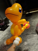 Charmander Balloon Sculpture