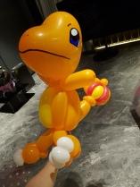 Charmander Balloon Sculpture