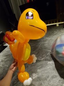 Charmander Pokemon balloon sculpture