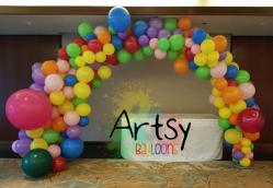 organic balloon decoration singapore