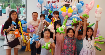 Balloon sculpting birthday parties events