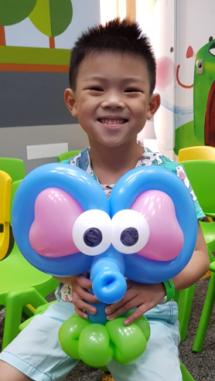 Balloon Sculpting Singapore panda