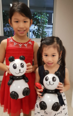 Balloon Sculpting Singapore panda
