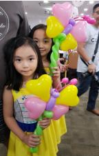 Balloon Sculpting Singapore Balloon butterfly