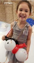 Balloon Sculpting Singapore snowman