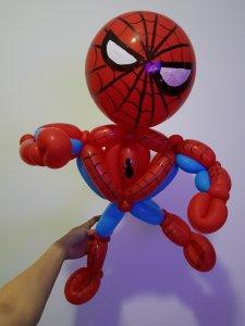 Spiderman balloon Sculpture