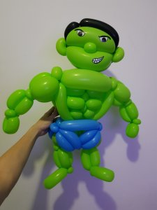 Hulk Balloon Sculpture