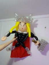 Thor Balloon Sculpture
