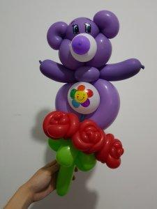 Care bear balloon Sculpture