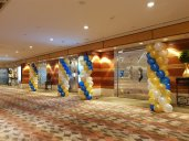 balloon column decoration singapore