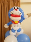 Doraemon balloon sculpture