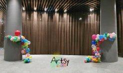 Organic balloon pillars