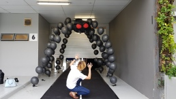 Spider Balloon arch for halloween