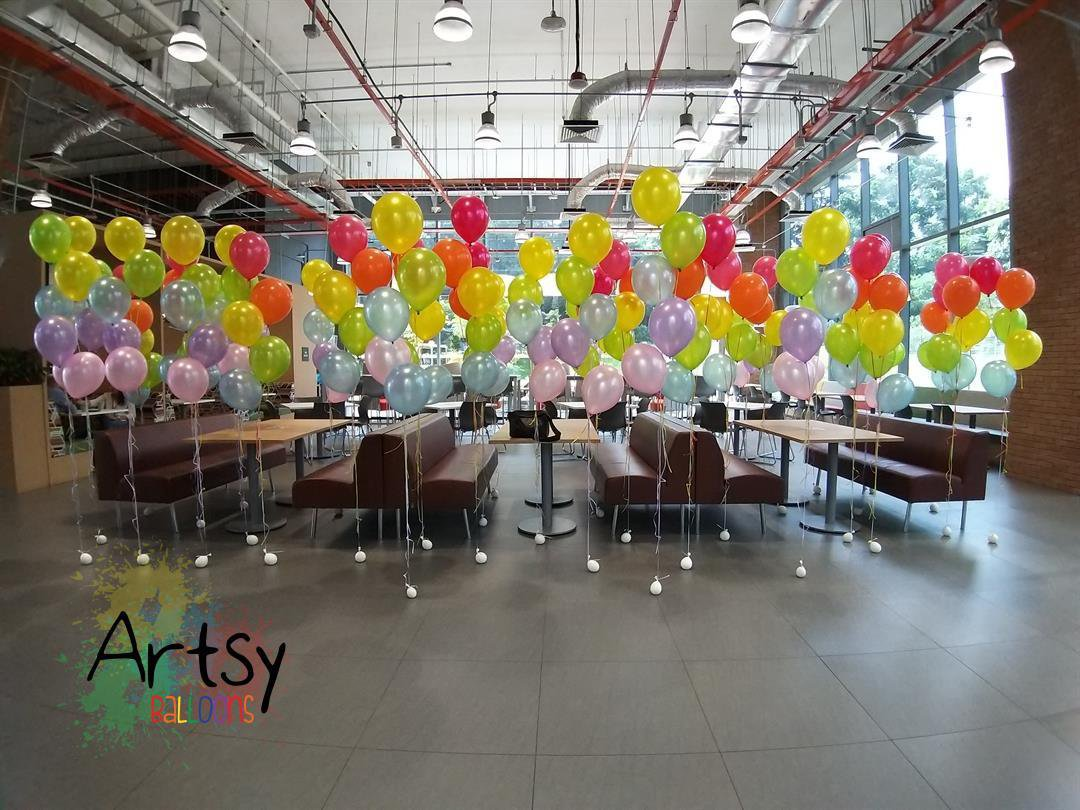 , Helium Balloon Walls!, Singapore Balloon Decoration Services - Balloon Workshop and Balloon Sculpting