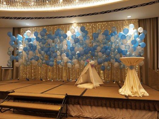 Frozen balloon decorations helium