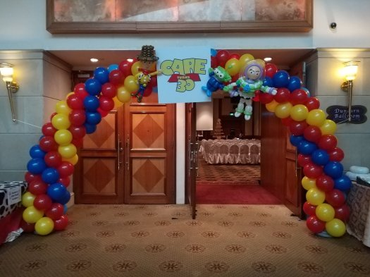 Toy story balloon decorations