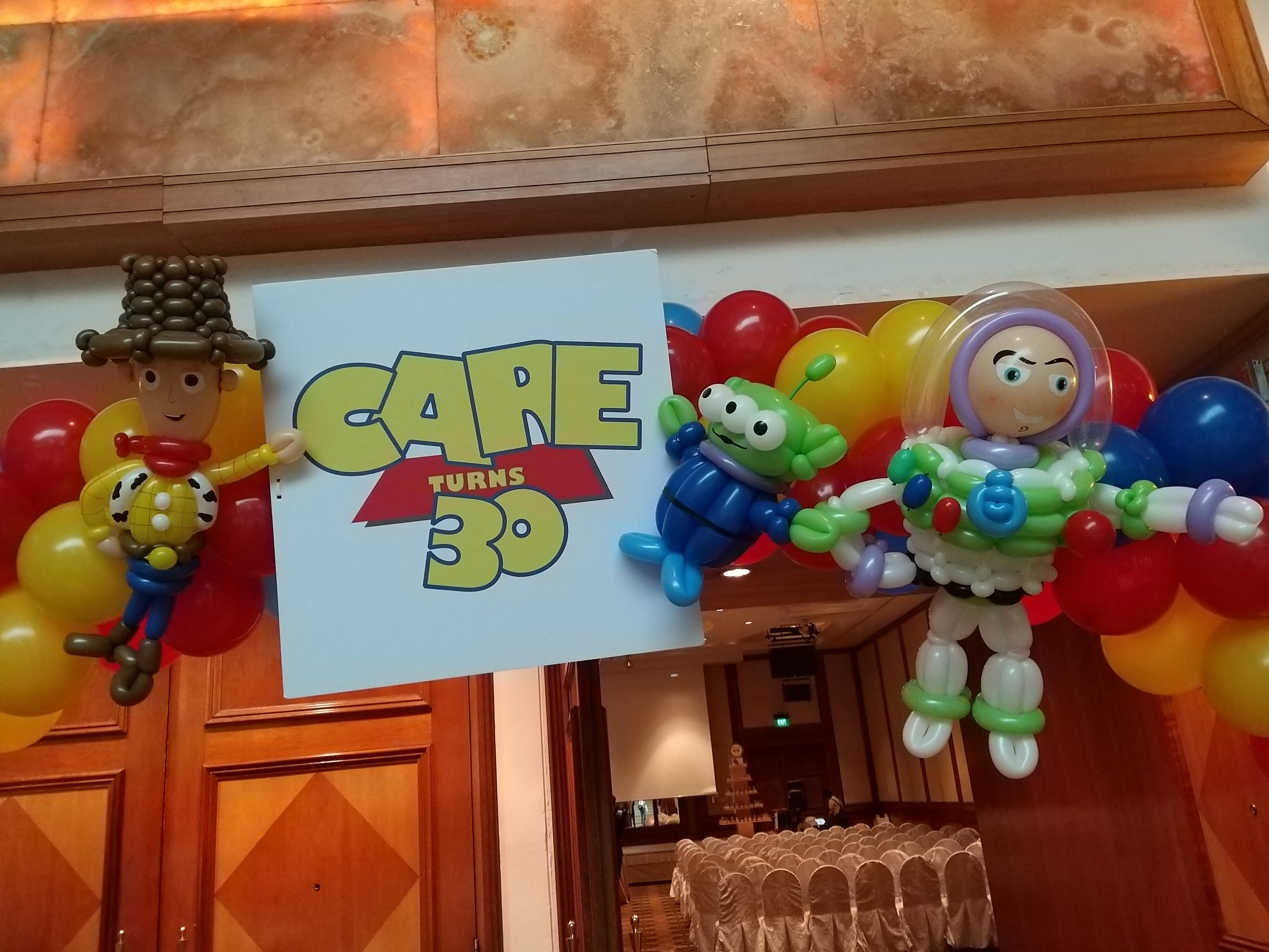 , Toy Story Themed Balloon Decorations, Singapore Balloon Decoration Services - Balloon Workshop and Balloon Sculpting