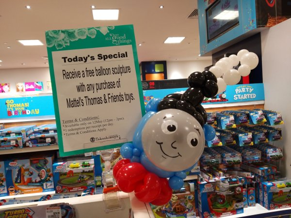 Happy birthday Thomas the Train's and friend! – Singapore