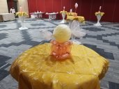 Sweet Balloon Table Centerpiece