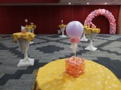 Candy pop Balloon Table Centerpiece