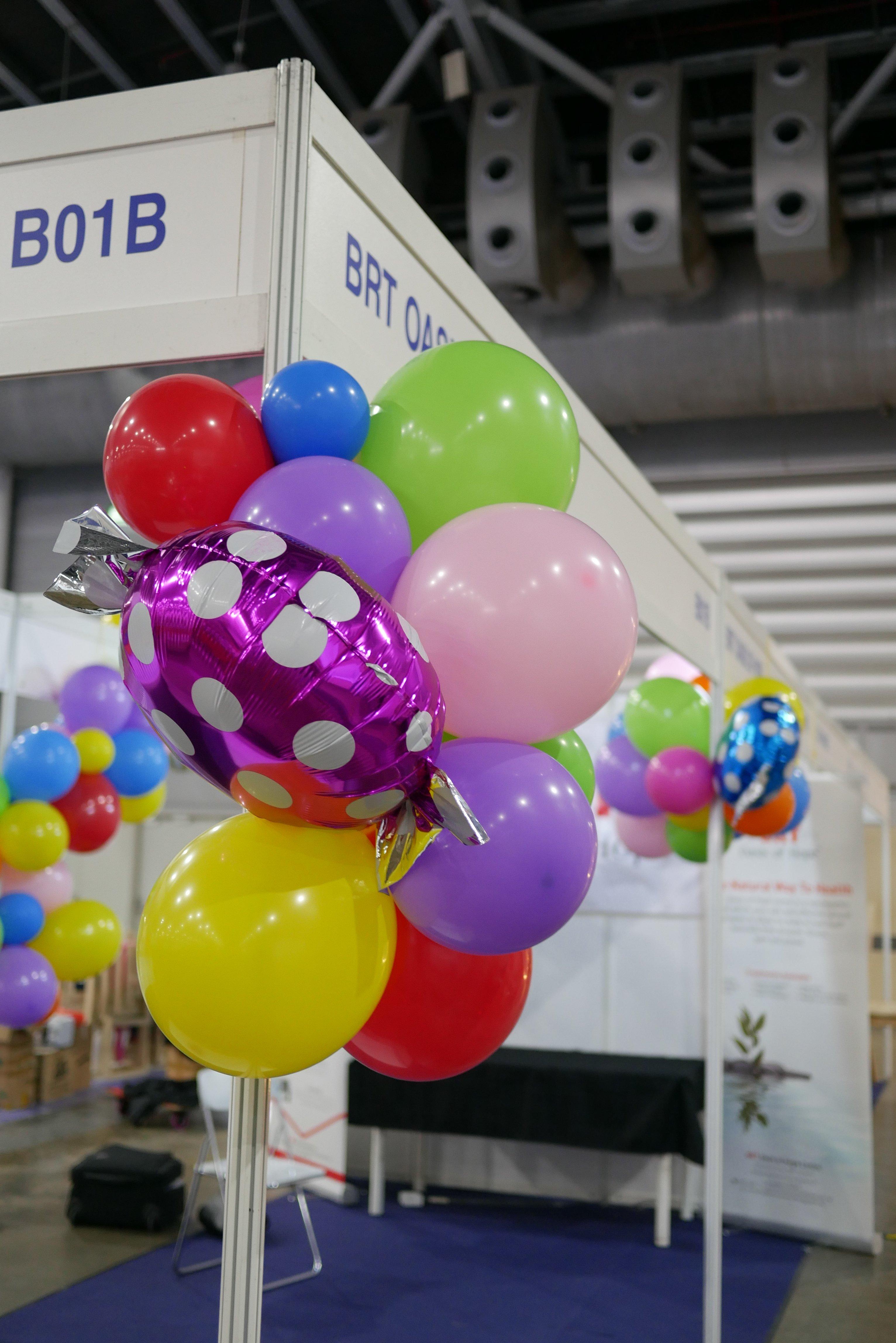 , Expo Exhibition Balloon Decorations, Singapore Balloon Decoration Services - Balloon Workshop and Balloon Sculpting