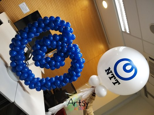 Table logo balloon display