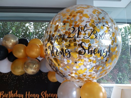 Jumbo customised helium balloon