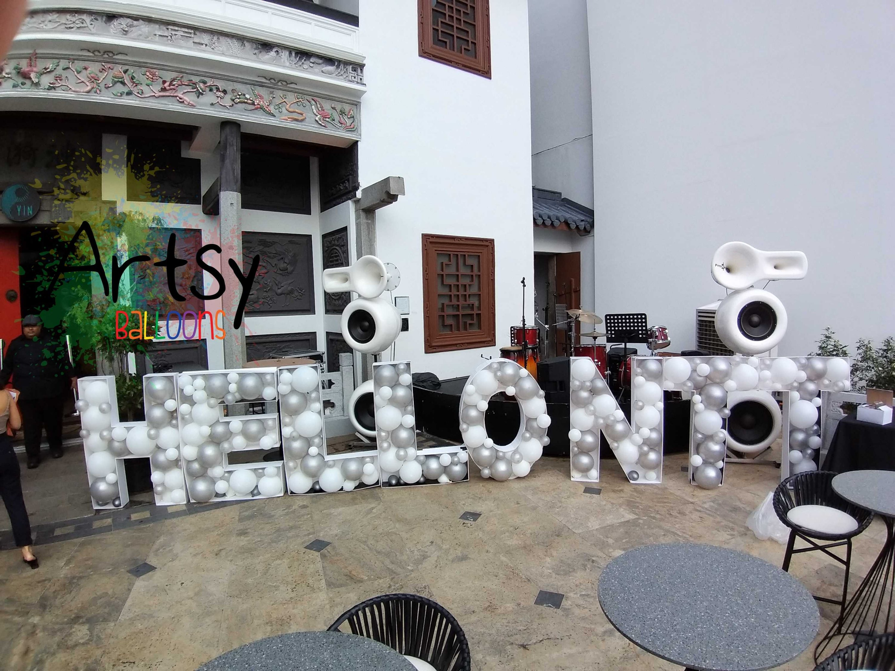 , Marquee Balloon Alphabets, Singapore Balloon Decoration Services - Balloon Workshop and Balloon Sculpting